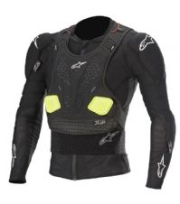 ALPINESTARS BIONIC PRO v2 PROTECTION JACKET BLACK/YELLOW FLUO